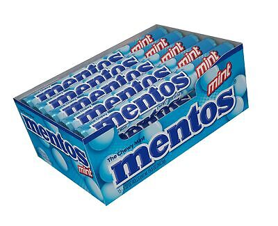 Mentos Chewy Mint Candy Roll, Mint Non Melting Party 14 Pieces Pack of 15