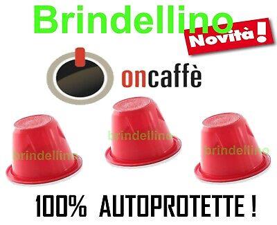 100 CAPSULE ON Caffè MISCELA INTENSO COMPATIBILI MACCHINE NESPRESSO