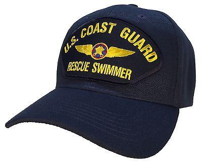 Coast Guard Rescue Swimmer Hat Blue Ball Cap SAR USCG Coast Guard (Coast Guard Rescue)