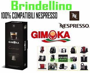200 Pods Capsules coffee Gimoka CREAMY compatible NESPRESSO,krups,De Longhi