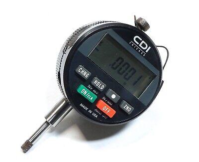 Cdi Chicago Bg2600 Countersink Chamfer Gage Digital Dial Indicator .400 Range