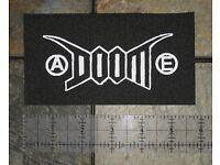 DOOM Back Patch Antisect Anti Cimex Filth D-beat Extreme Noise Terror Punk Crust