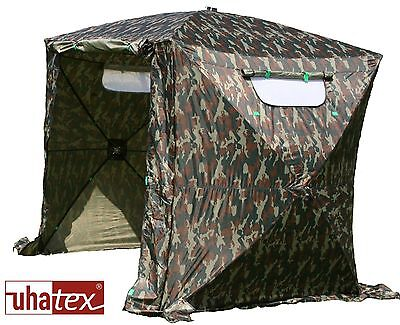 Angelzelt, Fishing tent, Wetterschutz ohne Boden,   Maße ca.1,80x1,80x2,00m