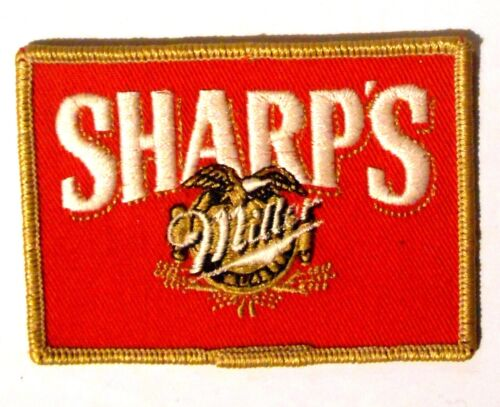 "Sharps Miller  Beer Light Patch Embroidered Ale 3-3/4"" inch"