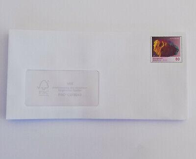 Plusbrief 80 Cent selbstklebender Umschlag Marke Mondgestein  50 Stück -NEU-