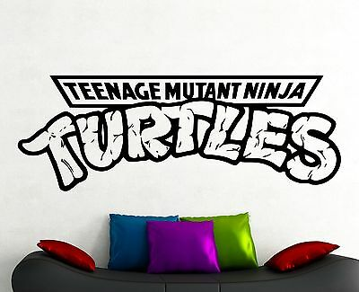 Ninja Turtles Wall Decal Vinyl Sticker Movie Video Game Art Boys Room Decor 4eqa ()