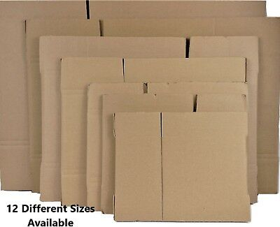 10 Heavy Duty Double Wall Cardboard Shipping Quality Corrugated Storage Boxes