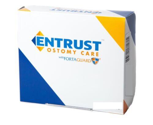 "Fortis Entrust Ostomy Pouch, Disposable Bag, 8"" x 8"", 60/PK, #6903"