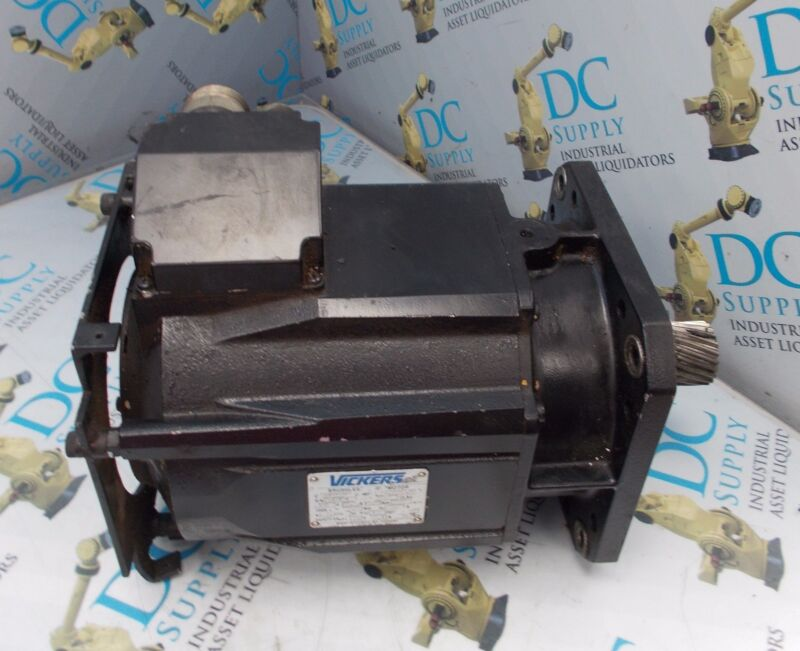 VICKERS C3300586 81.6592.00 2800 RPM BRUSHLESS SERVO MOTOR