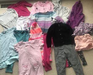 Large Girls clothing lot size 5-6