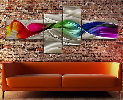 Aluminium Metal Modern Abstract Wall Art Original painting Large Contemporary