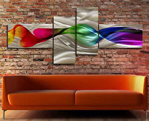 Metal Modern Abstract wall Art Original painting Contemporary Large Aluminium