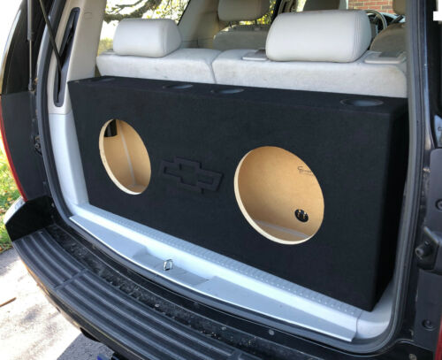 For a 2000+ Chevy Tahoe ~ Custom Ported / Vented Sub Box Subwoofer Enclosure
