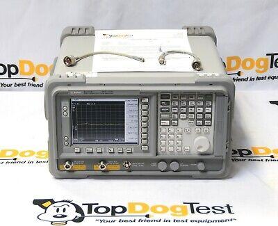 Hp Agilent Keysight E4405b 9khz-13.2ghz Spectrum Analyzer W Tracking Generator