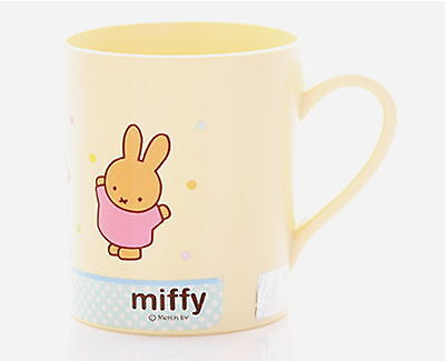 Miffy Handle Cup /baby kids/Safety Corn material/Character Dinnerware/Dick Bruna