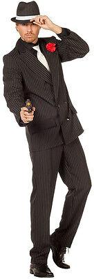 Mafiaboss Vincenzo Gangster Kostüm NEU - Herren Karneval Fasching Verkleidung - Mafia Boss Kostüm