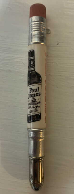 Vintage Bullet Pencil - Paul Jones Whiskey Louisville Kentucky KY Never used