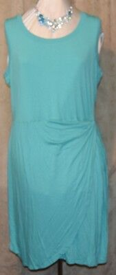 Pretty Crossover (SPENSE WOMAN FROM MACY'S PRETTY CROSSOVER FRONT W/KNOT WAIST SCUBA GREEN)