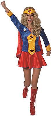 Wondergirl Superheldin Damenkostüm NEU - Damen Karneval Fasching Verkleidung (Wonder Girl Kostüm)