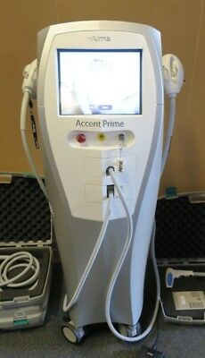 USED ALMA LASERS ACCENT PRIME RF BODY CONTOURING SKIN TIGHTENING BEAUTY MACHINE