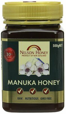 Nelsons Active Manuka Honey 30+ 500g (Pack of 3)