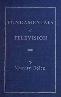 Fundamentals Of Television 1950 Cdrom
