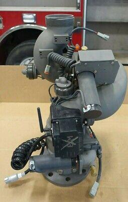 Elkhart Brass Scorpion Exm Monitor Deck Gun 2000 Gpm 4 Ansi Inlet 3.5 Out