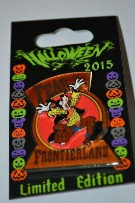 Disney Goofy Fear In Frontierland Halloween 2015 Pin LE 4000 1 Of 4 In Series