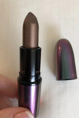Mac ~ Mirage Schwarz ~ Noon ~ Warm Braun Metallic Finish Lippenstift Le ~ Low