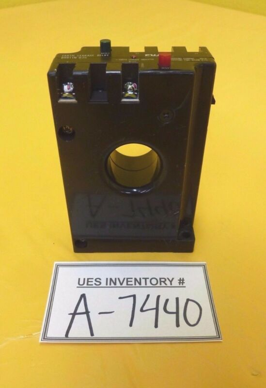 Fuji Electric BRRIIN-01S Earth Leakage Relay Used Working