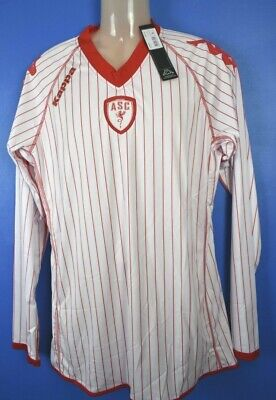 AS Cannes France home long sleeved shirt jersey football soccer XL 2011/12  image