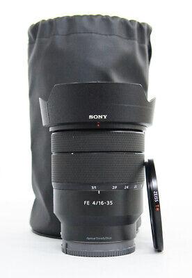 # Sony fe 16-35mm Vario-Tessar T FE F4 ZA OSS E-Mount Lens S/N 1935968