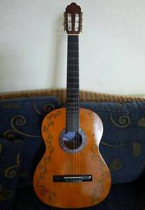 Valencia classical Guitar with Artwork Buderim Maroochydore Area Preview
