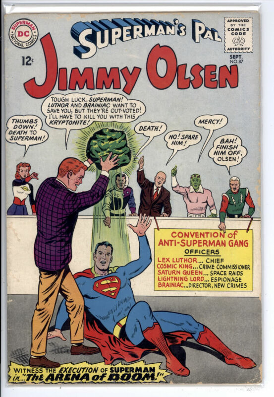 SUPERMANS PAL JIMMY OLSEN #87