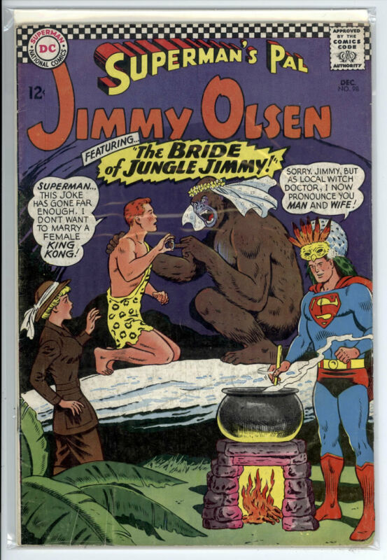 SUPERMANS PAL JIMMY OLSEN #98