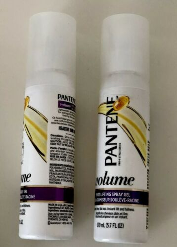 2 Pantene Pro V Style Volume Root Lifting Spray Gel Boosts F