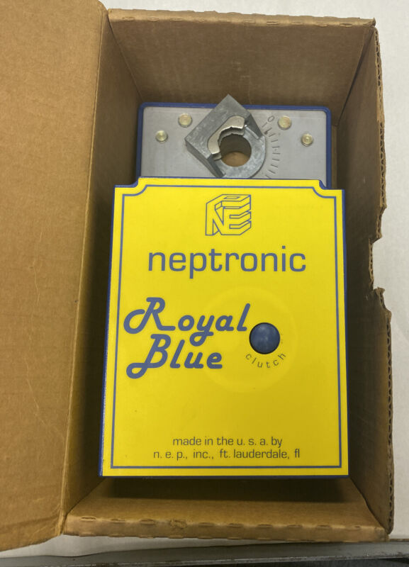 Neptronic Rbt5060 Royal Blue Actuator Nos