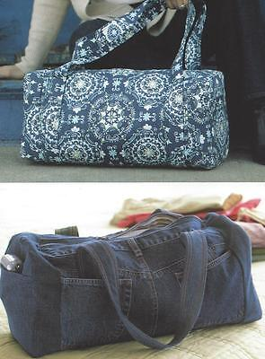 Ideal Duffle purse pattern by Amy Barickman of Indygo Junction