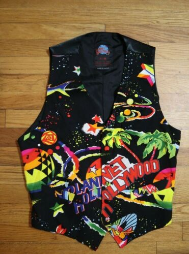 VINTAGE 1990s PLANET HOLLYWOOD VEST - SIZE S/M