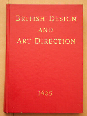 British Design and Art Direction 1985 Hardback - Used Condition