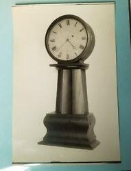 Antique Lemuel Curtis Style Floor Clock Salesman's Photograph