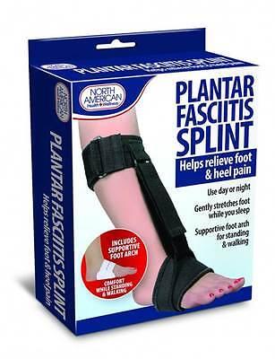 Plantar Fasciitis Splint Foot Heel Pain RELIEF day night brace Adjustable