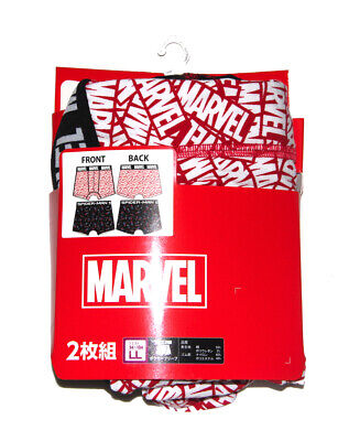 Marvel Japan Super Hero Kawaii Mens Underwear boxer Shorts Size LL (94-104)