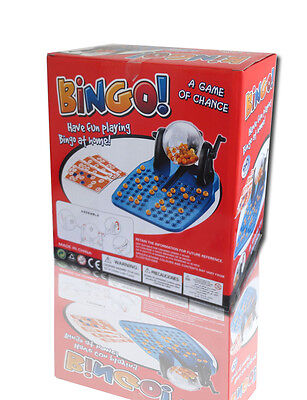 Bingo ! Fashion Fun Economy Cage Bingo Lotto Game Set Gift for Party Christmas - Games For Christmas Parties