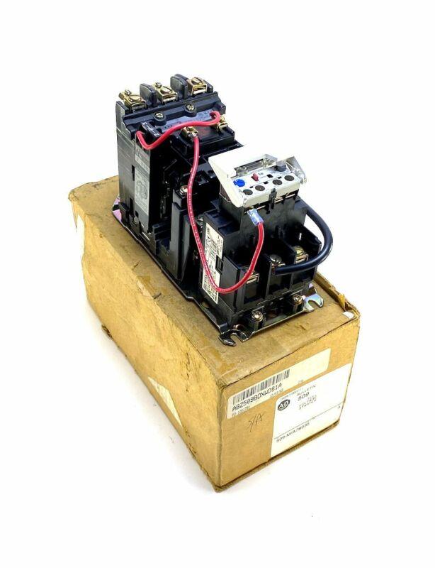Allen Bradley 509-BOD-XXX Size 1 Starter w/2-7 Amp Overload (NIB)