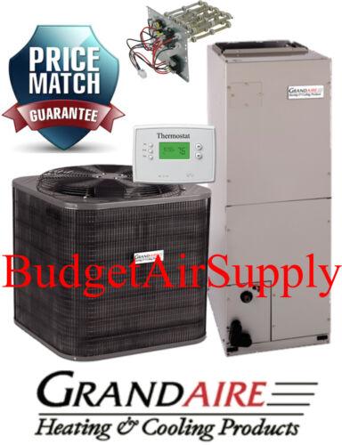4 Ton 14 Seer Heat Pump 410a Carrier/icp-grandaire Model  Split System + Extras