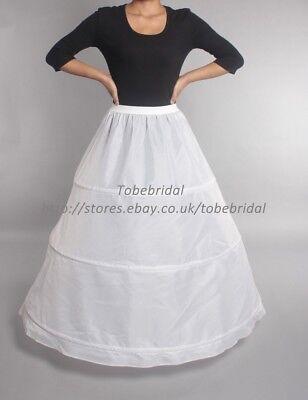 Röcke mit 3 Ringe  A-Linie Krinoline Unterröcke reifrock Unterröcke Petticoat