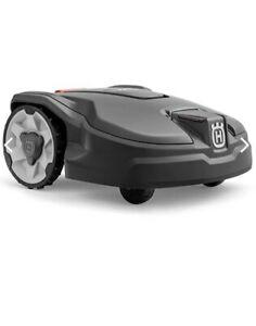 Husqvarna Robot Lawn Mower Garden + Kit Install. Mod. Automower 305 Warranty Pol