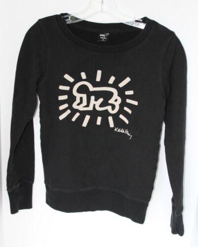 SPRZ+NY+Keith+Haring+Size+XS+Sweatshirt+Black%2C+Beige+MOMA+Special+Edition+2014