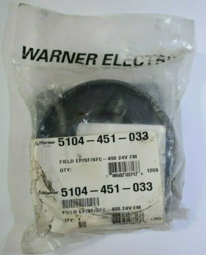Warner Electric 5104-451-033 Field Assembly for Clutch or Brake EP/SF/SFC-400